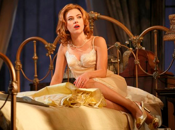 Scarlett Johansson on The Broadway 'Cat on a Hot Tin Roof'