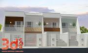 3dsign: Fachadas casas geminadas