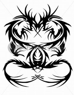 Tribal Dragon Tattoos, Tattooing