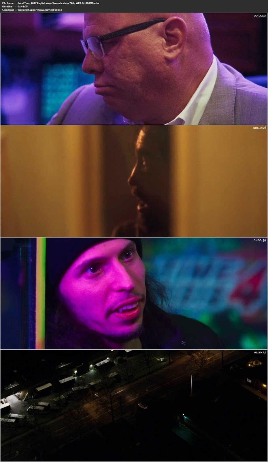 Good Time 2017 English Full Movie WEB DL 720p at softwaresonly.com