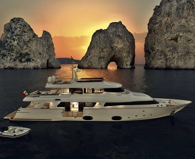 Yate de súper lujo Navetta 33 - Luxury yacht