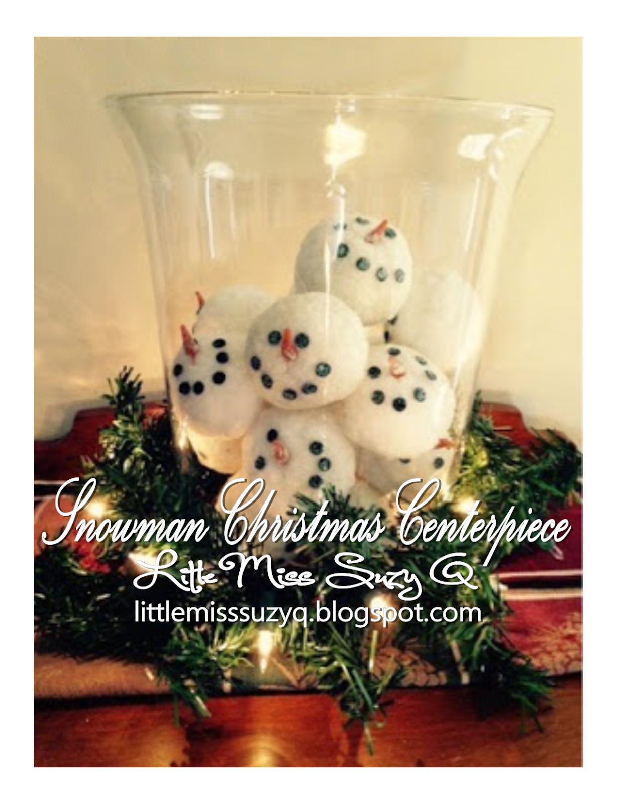 1000  images about Snowman Centerpieces on Pinterest