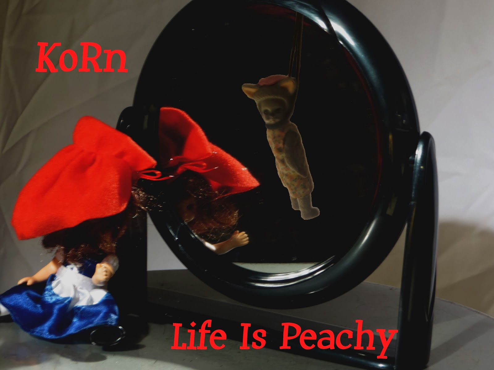 Korn Life is Peachy Cover jpgKorn Life Is Peachy Album Cover