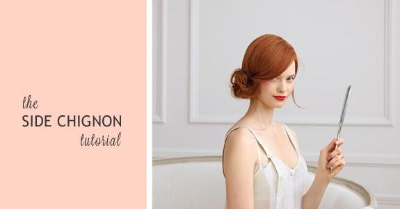 'Side Chignon' Hair Tutorial   B.A.S Blog