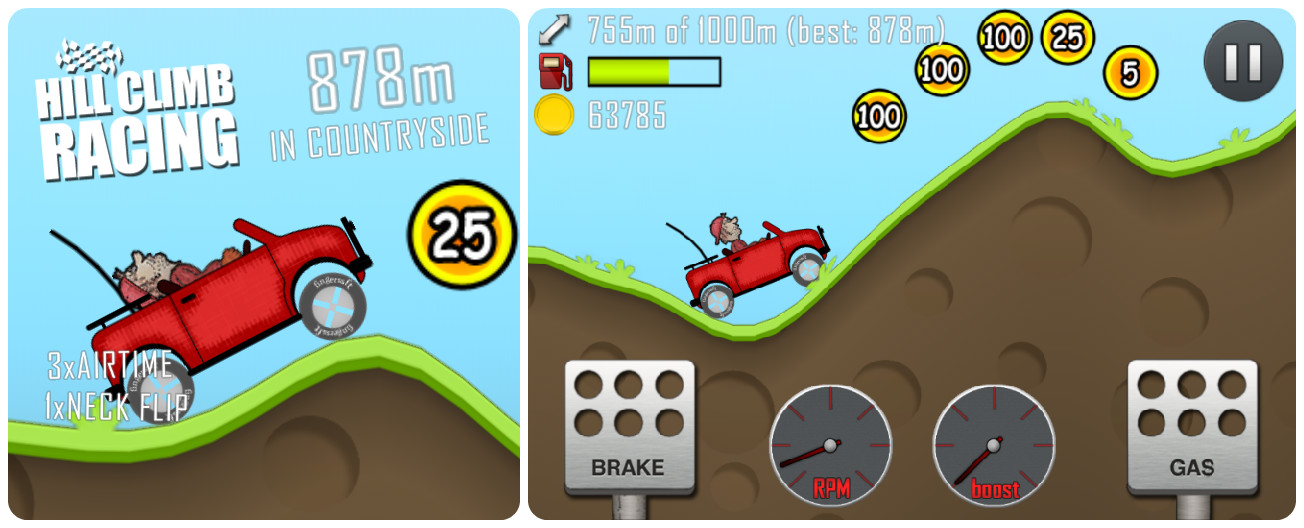 Game Review: Hill Climb Racing