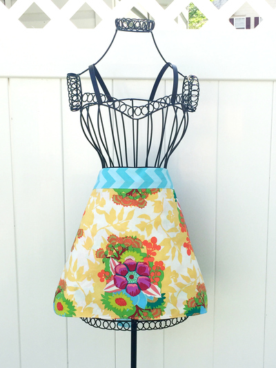 Sewing tutorial for Aprons