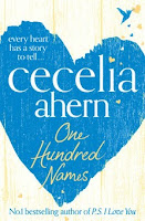 UK book cover of One Hundred Names by Cecelia Ahern