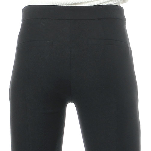 Boot-Cut Relaxed Fit Pants