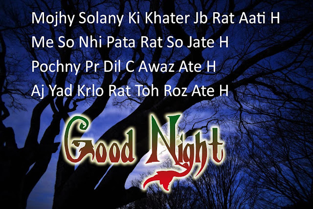 Good Night SMS Messages For Love In Hindi Images