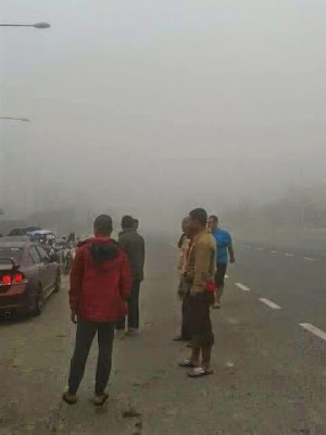 Fenomena sejuk luar biasa di Kelantan