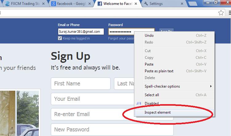 easiest way to hack a facebook account password