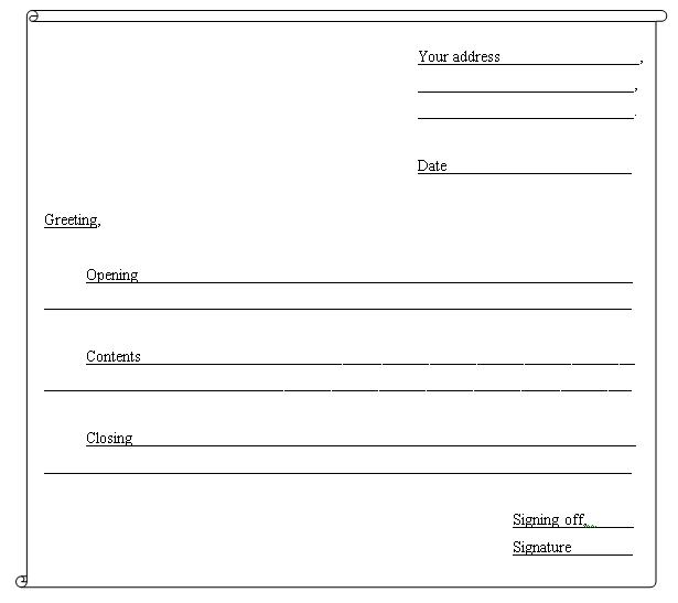 Guidelines to write an informal letter teacher nuhas english blog click on the above picture to enlarge thecheapjerseys Images