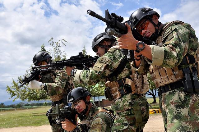 Colombia, a un Paso de ser Campeones de Fuerzas Comando 2012