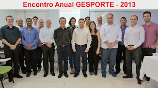 Participantes do Encontro Anual GESPORTE 2013