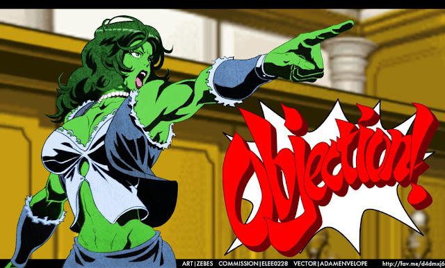 She-Hulk por elee0228