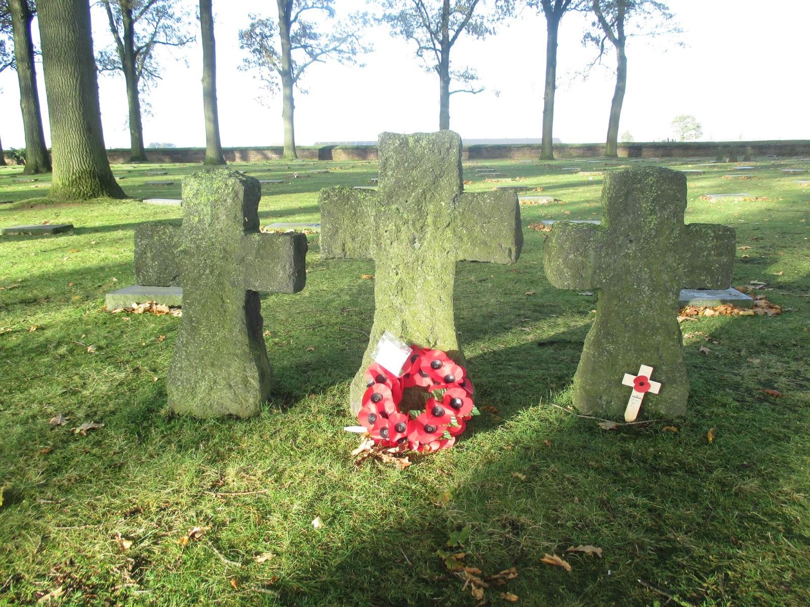 Deutscher Soldatenfriedhof in Langemark