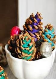 http://un-mundo-manualidades.blogspot.com.es/2013/12/bonitas-pinas-adornadas-con-estambre.html