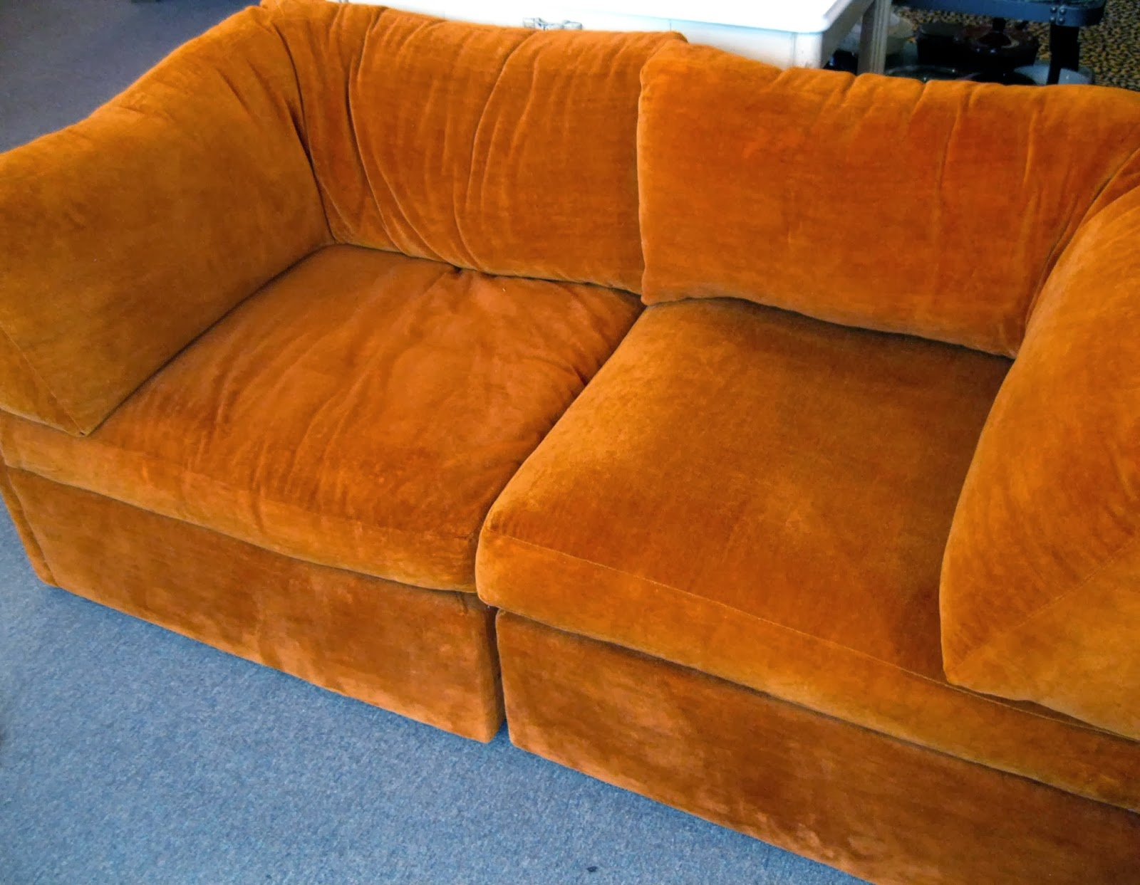 how to clean velvet couch