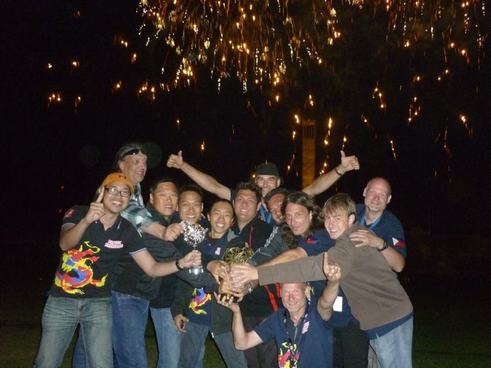 Philippines wins fireworks competition in germany for Ui offenbach