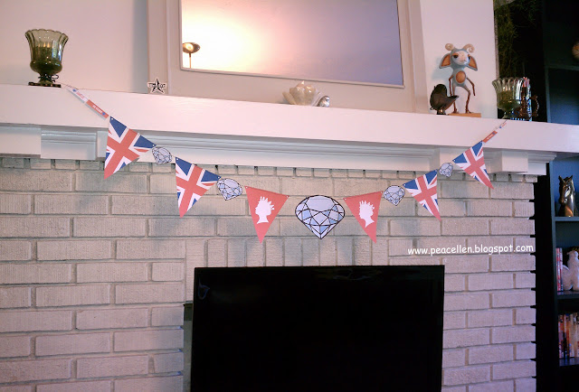 Diamond Jubliee Union Jack Bunting