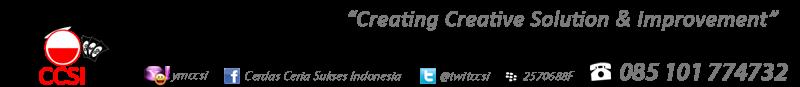 Lowongan Kerja Programmer di CV. CCSI – Surabaya
