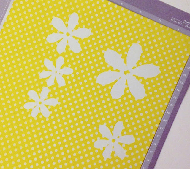 kiss cut washi sheets with cricut