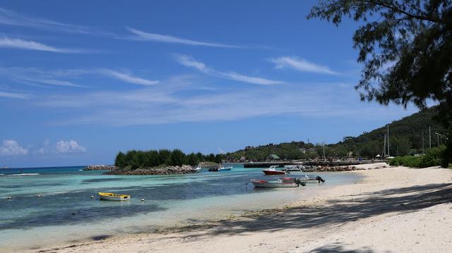 Insel La Digue Seychellen
