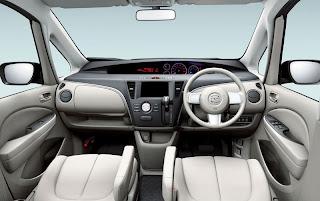 Mazda Biante - dashboard