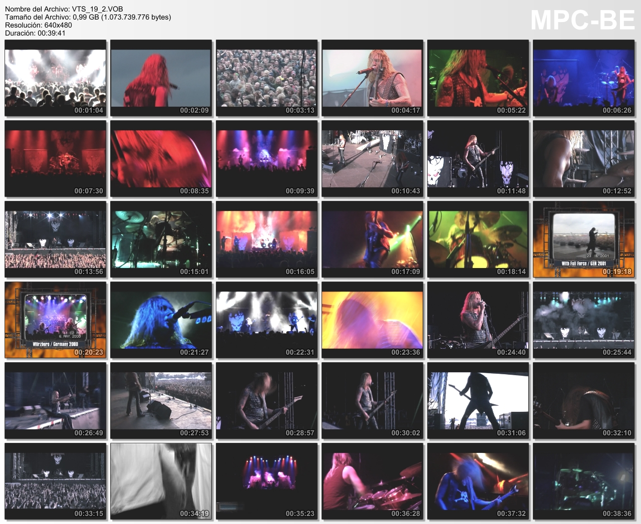 Destruction Live Discharge DVD + Audio CD