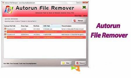 autorun virus remover batch file