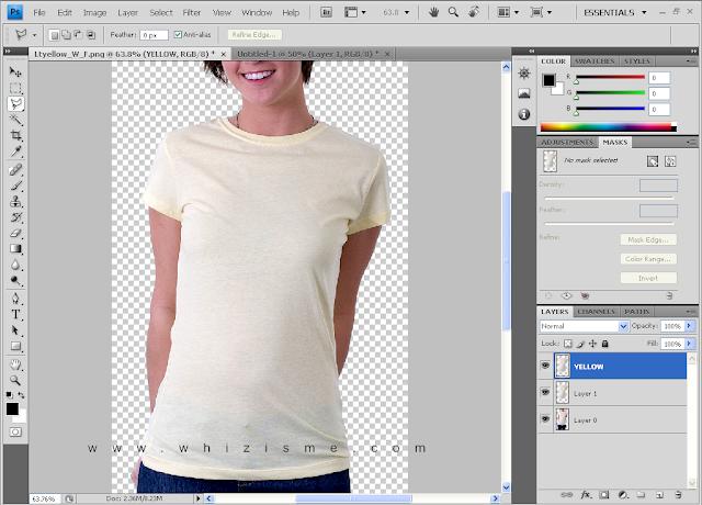 Desain kaos, MoskUp Tees, Mock Up T-shirt, Membuat MockUp Kaos