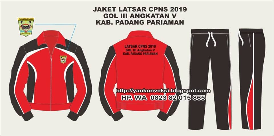 JAKET TRAINING LATSAR CPNS