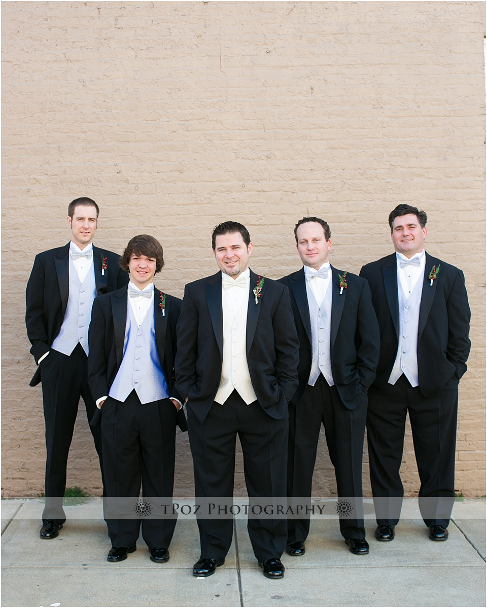 Baltimore wedding groomsmen
