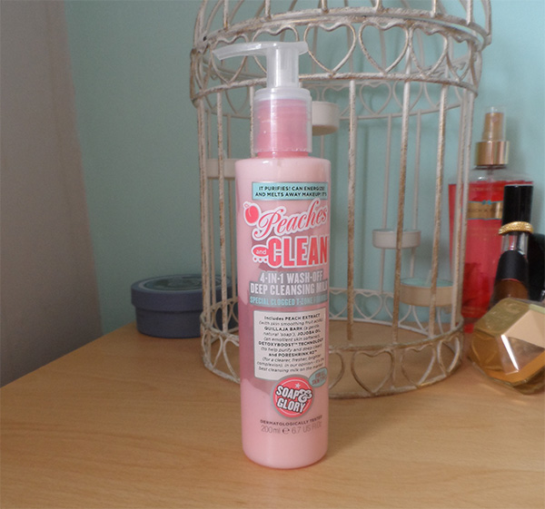 Soap & Glory Peaches & Clean 4in1 Cleansing Milk