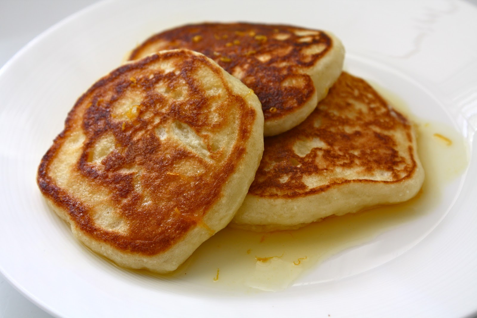 Orange Ricotta Pancakes (From The Breslin, by way of Food & Wine )