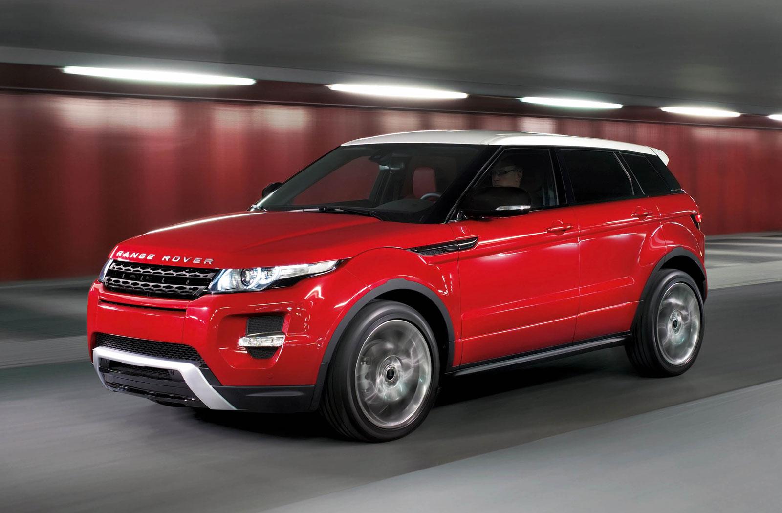 Sport Car Garage: 2012 Land Rover Range Rover Evoque 5-door