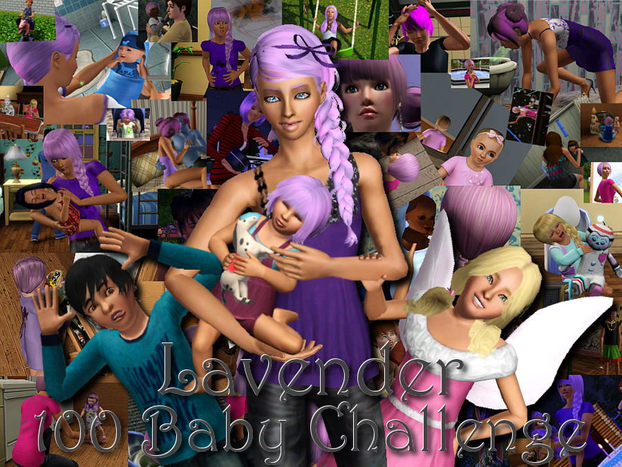 The Lavender 100 Baby Challenge