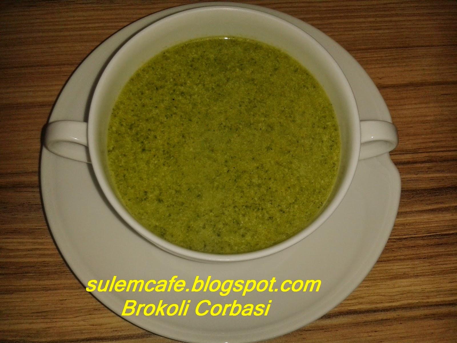 sütlü körili brokoli diyet corbasi