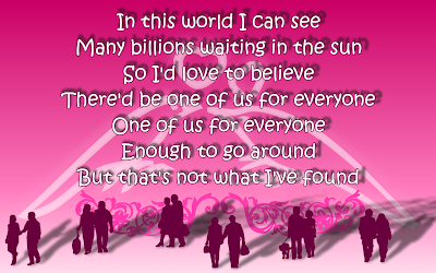 One True Love - Semisonic Song Lyric Quote in Text Image