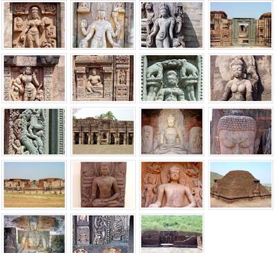 Buddhist Viher in Nalanda