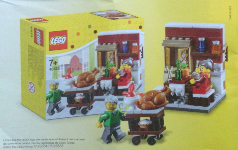 2015聖誕小火車Lego 40138 Christmas Train 曝光- 魯蛇實驗室