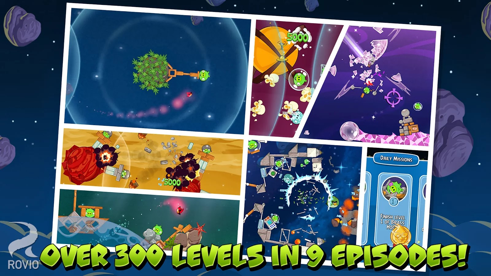 Angry Birds Space HD v2.1.0