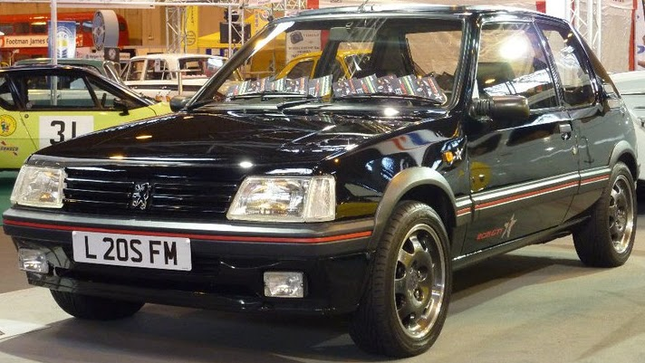 peugeot 205 gti 205 gti 1fm. Black Bedroom Furniture Sets. Home Design Ideas