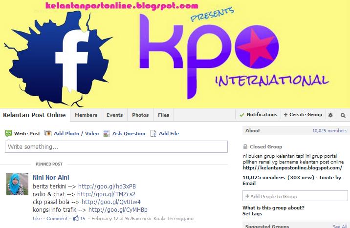 kelantanpostonline blogspot com ping busukahli facebook kpo dah melebihi 10k