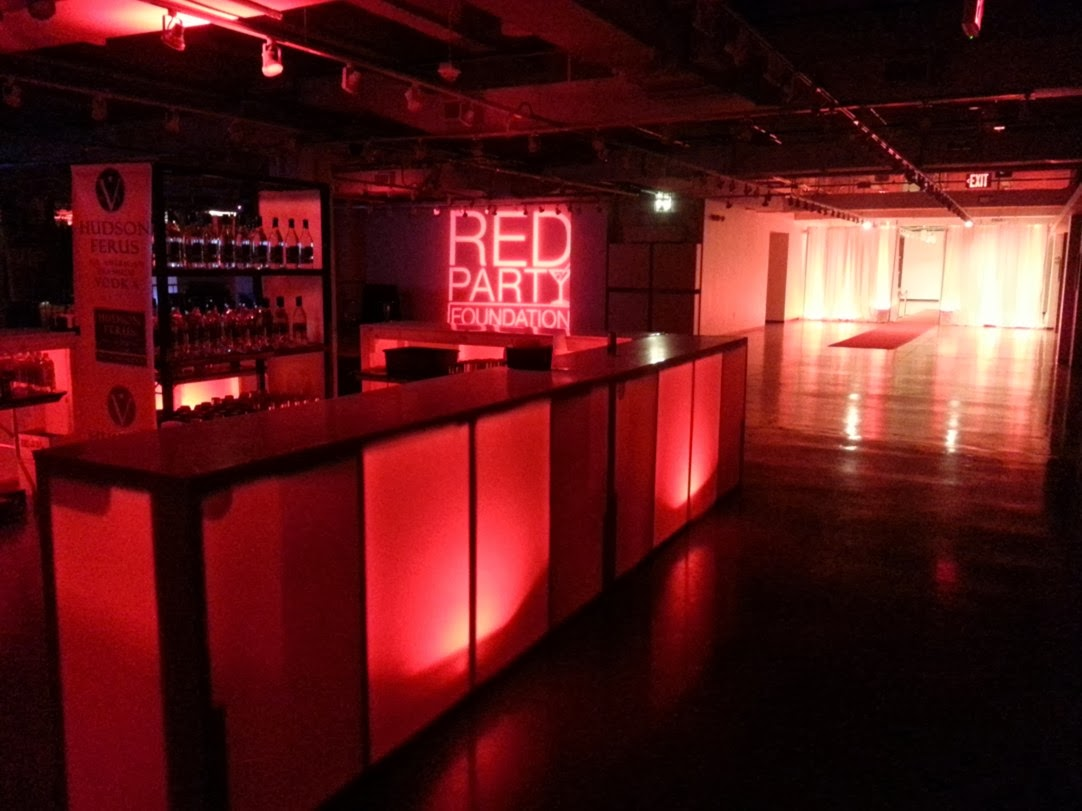 Fashion industry gallery - Soooo Red For Red Party At Fashion Industry Gallery