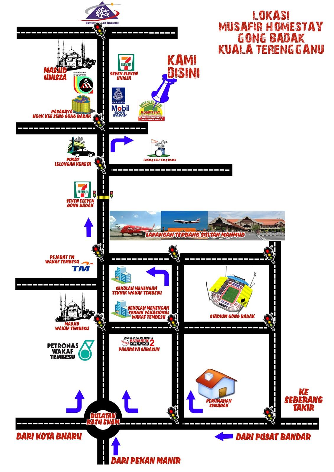 Dicatat Oleh Homestay Musafir Gong Badak Kuala Terengganu Di 1054 PTG Tiada Ulasan Pautan Pada Catatan Ini