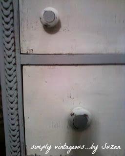 shabby, dresser, gray, white, detailing