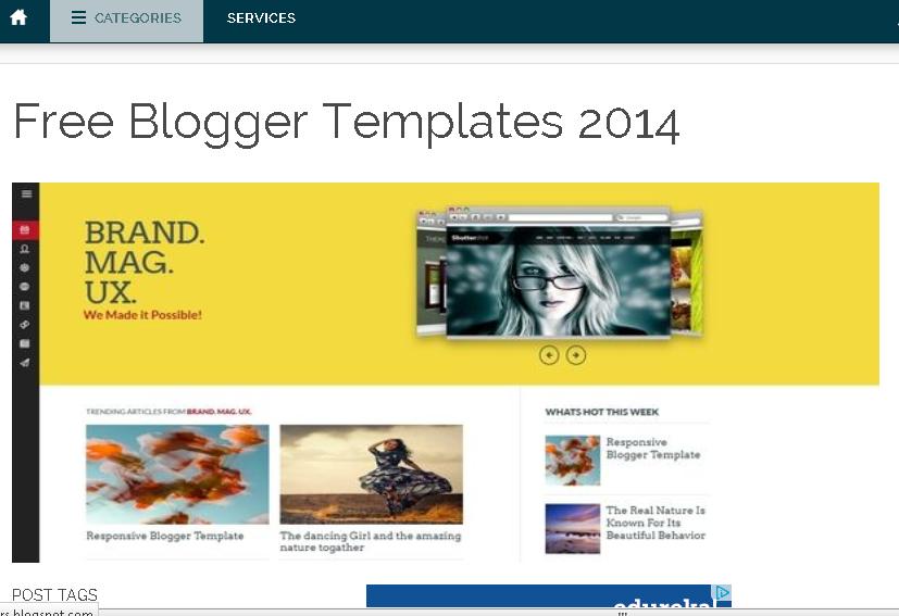 download free blogger responsive templates nepali
