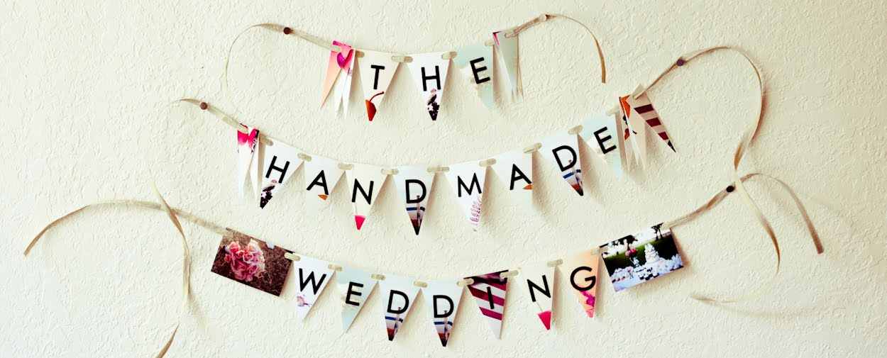 Wedding Blog - The Handmade Wedding - Real Weddings and Handmade Ideas for the Crafty Bride