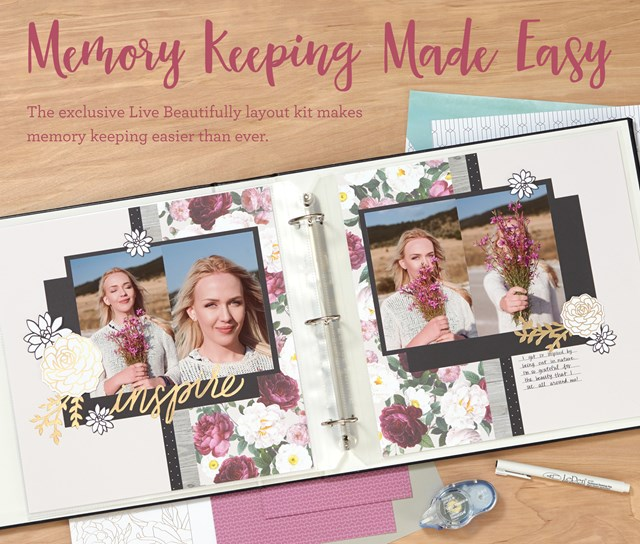 National Scrapbooking Month Cut-Above Kit